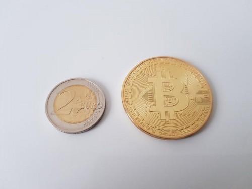nopirkt suvenīru bitcoin monētu)