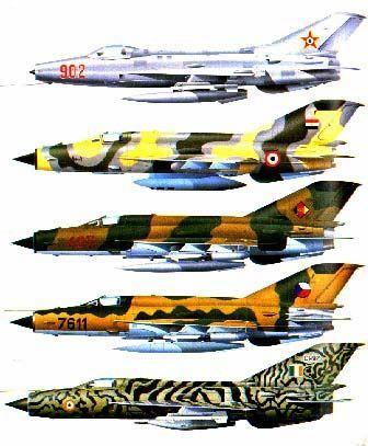 21 variants