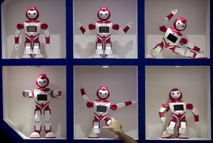 tirdzniecība ar robotiem)