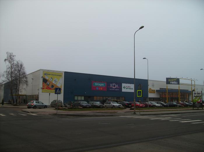 tirdzniecības centri rietumu)