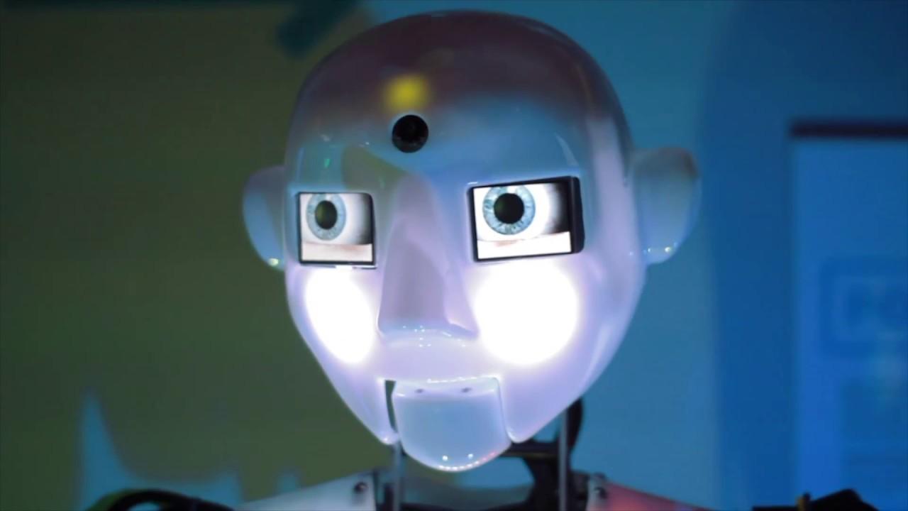 Youtube auto robota video.