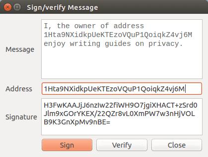 izsekot bitcoin adresi