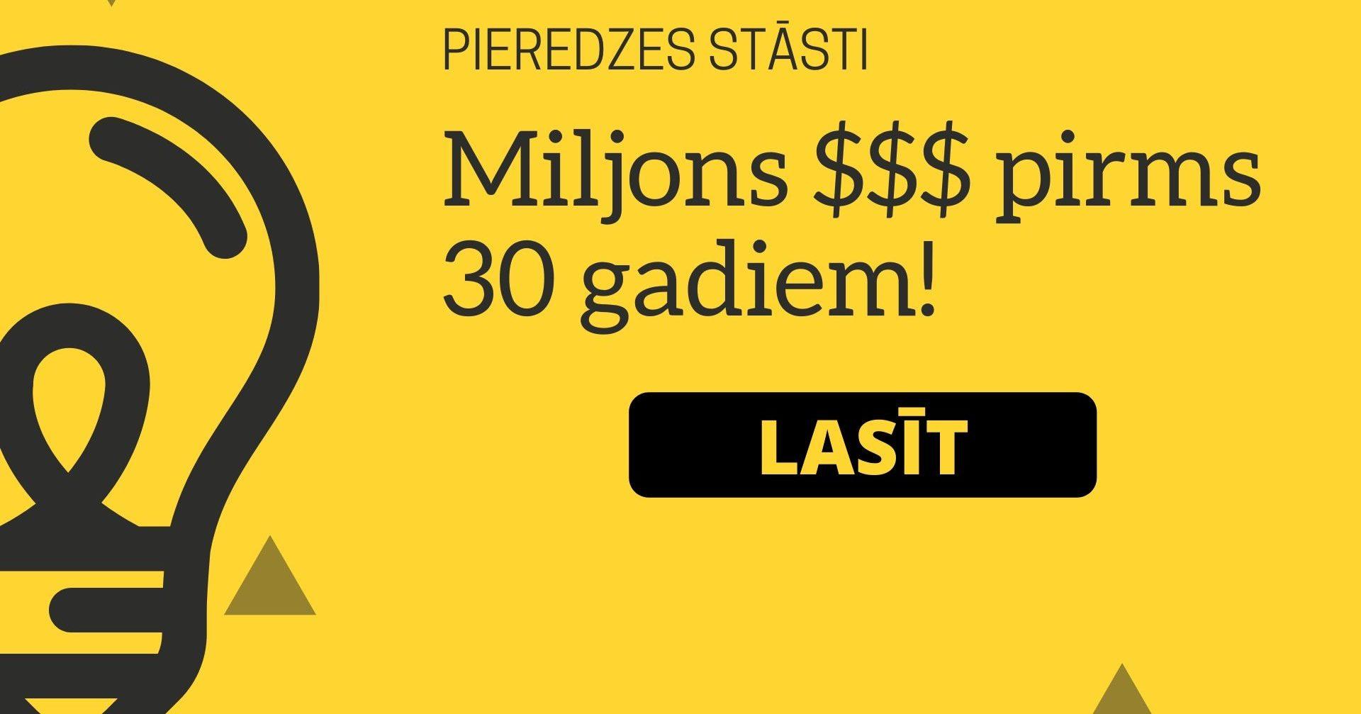nopelnīt miljonus internetā)