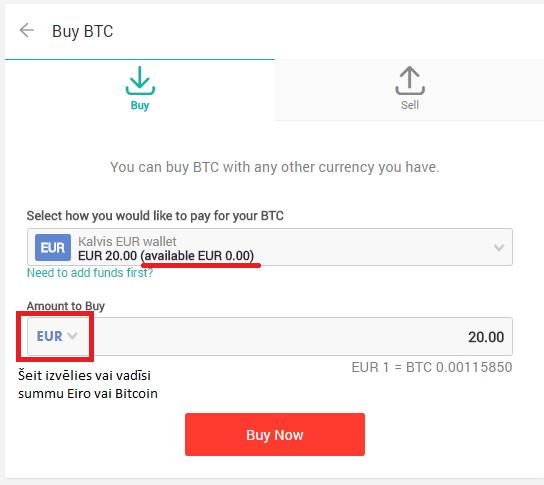 nopirkt bitcoins šodien