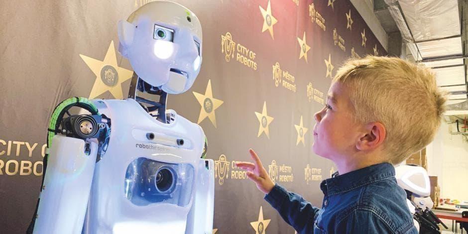 robotu tirdzniecība izplatījās)