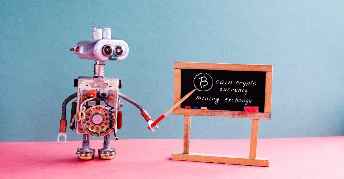 roboti pelna naudu biržā)
