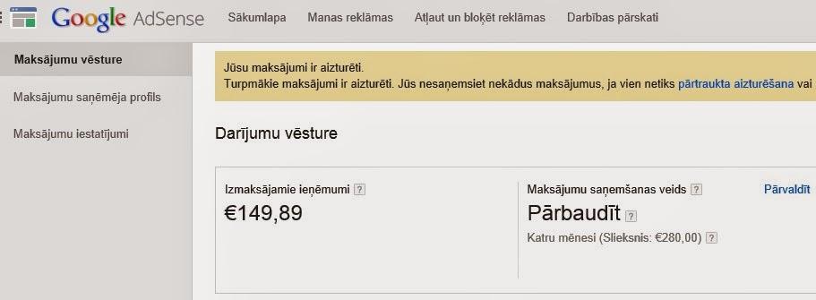 pelnīt naudu internetā internetā)