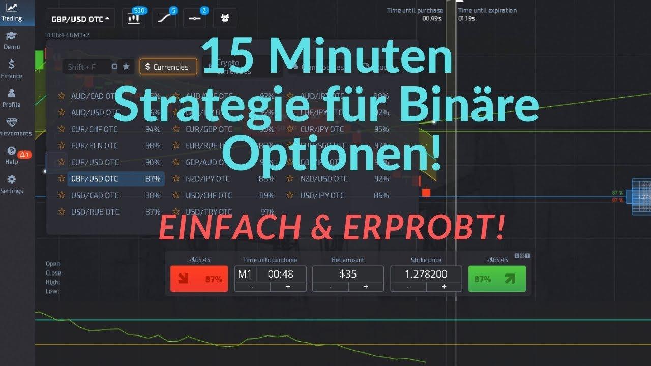 Bināro opciju tirgus 1 minūtes stratēģija