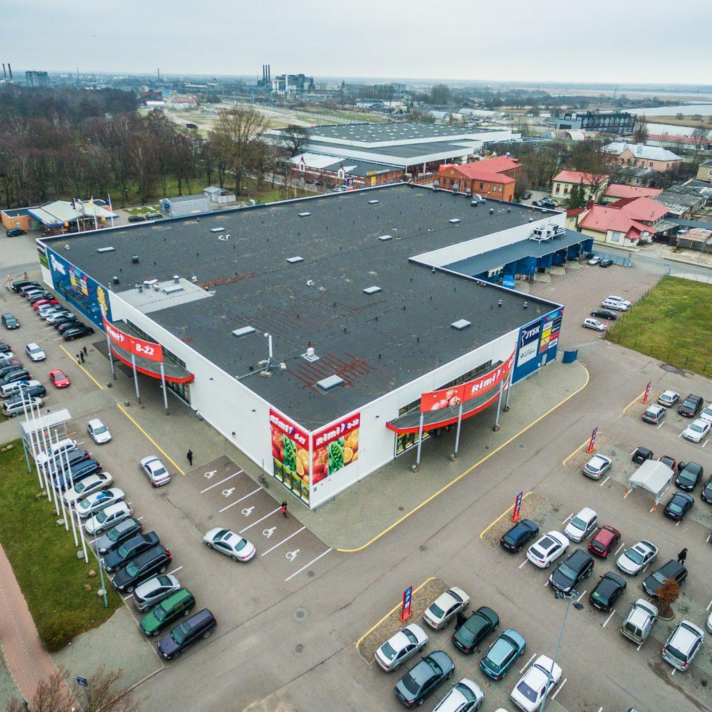 Newsec darbojas kā konsultants tirdzniecības centra pārdošanā Liepājā - Newsec