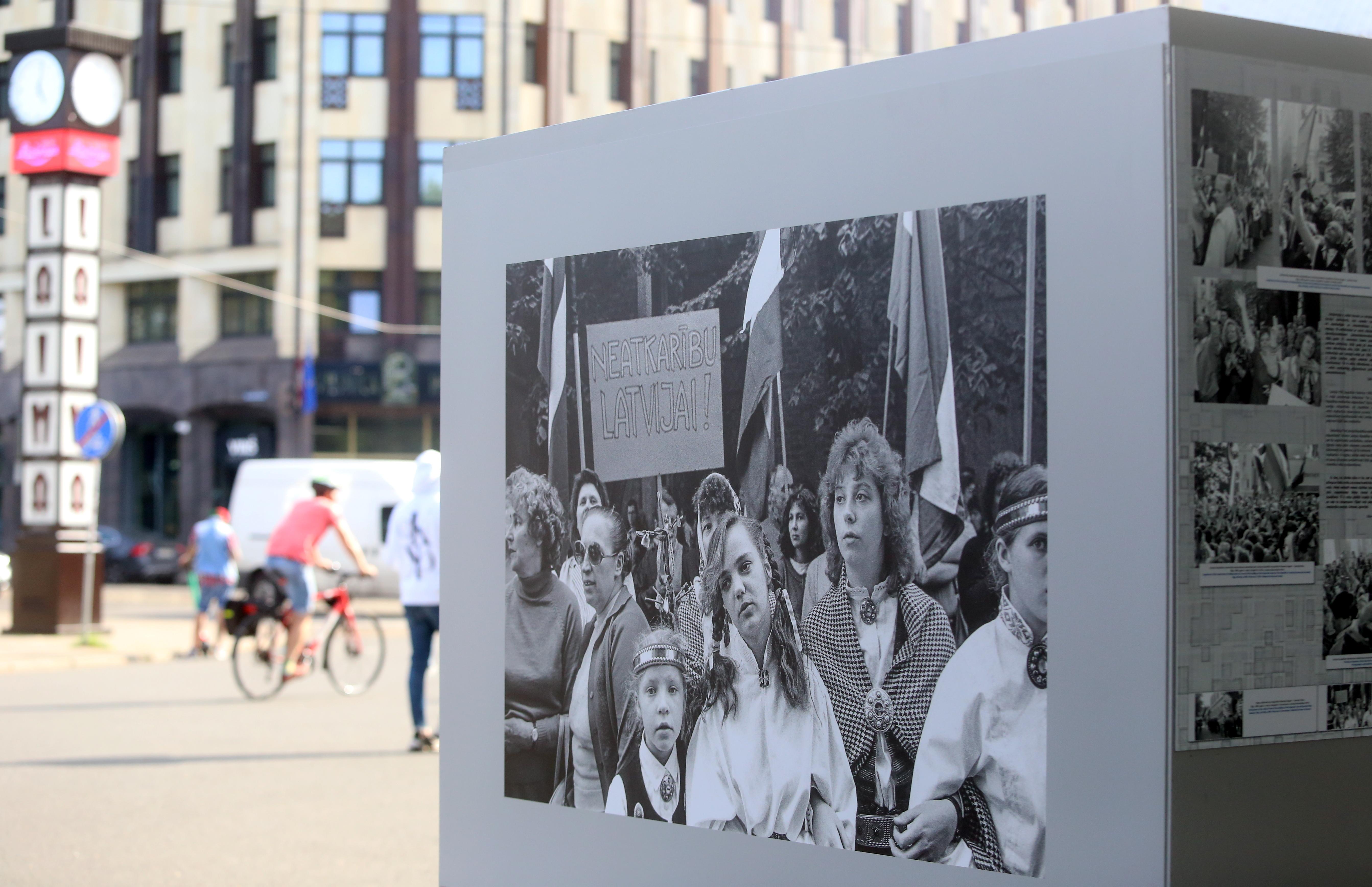 Ceļš uz neatkarīgu, demokrātisku Latviju… - Latvijas Vēstnesis