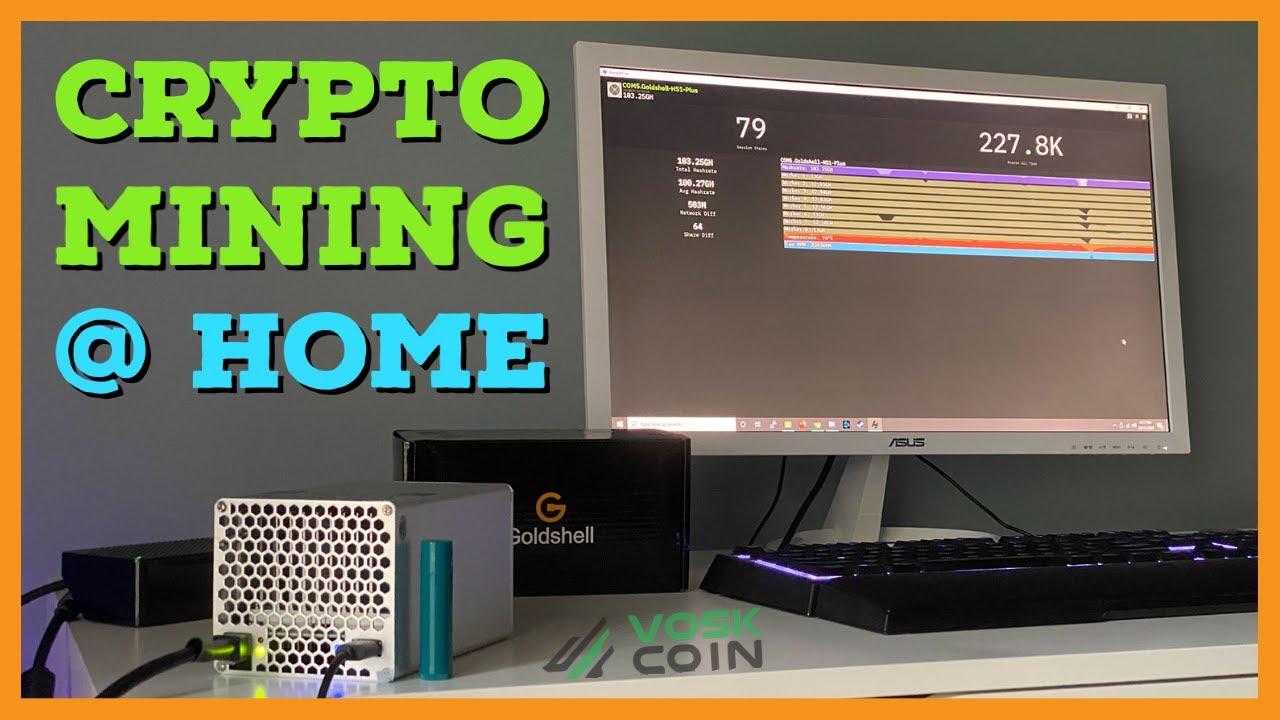 ieguves bitcoins uz jūsu mājas datora