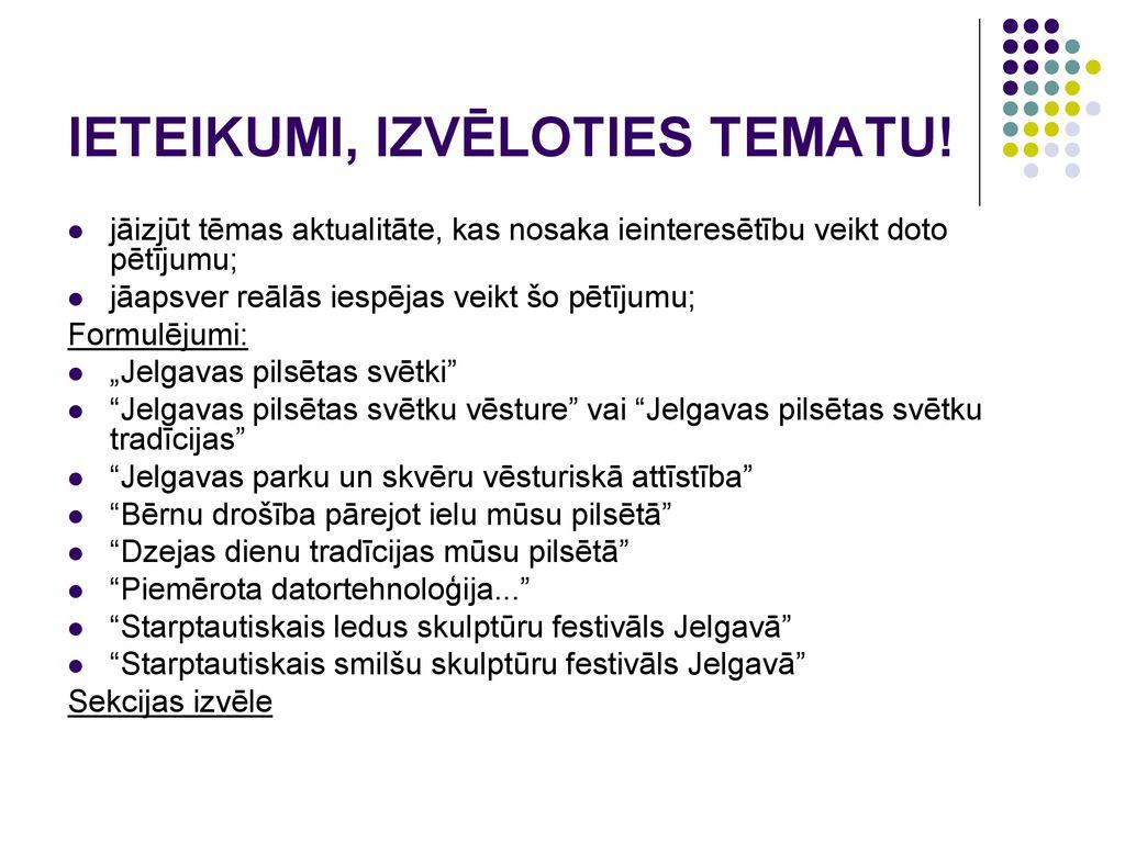 PAŠVALDĪBAS VADĪŠANAS METODES