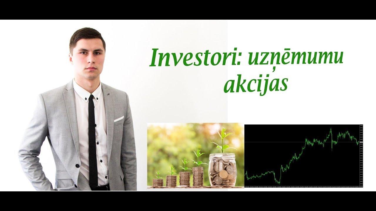 interneta investoru stratēģija