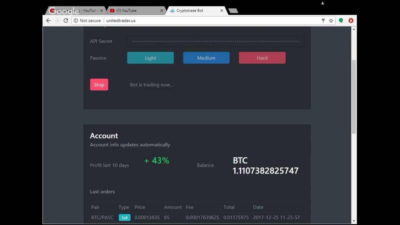 Bitcoin pelnīšanas programma