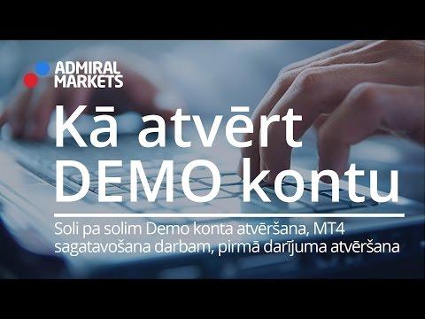 atvērt demo kontu)