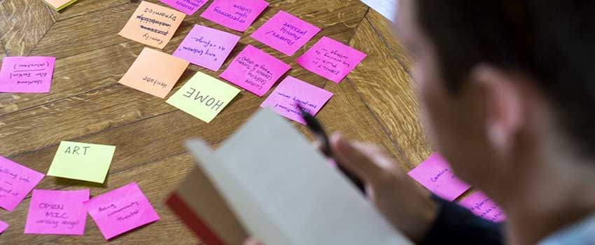 kur jūs varat ātri radīt idejas