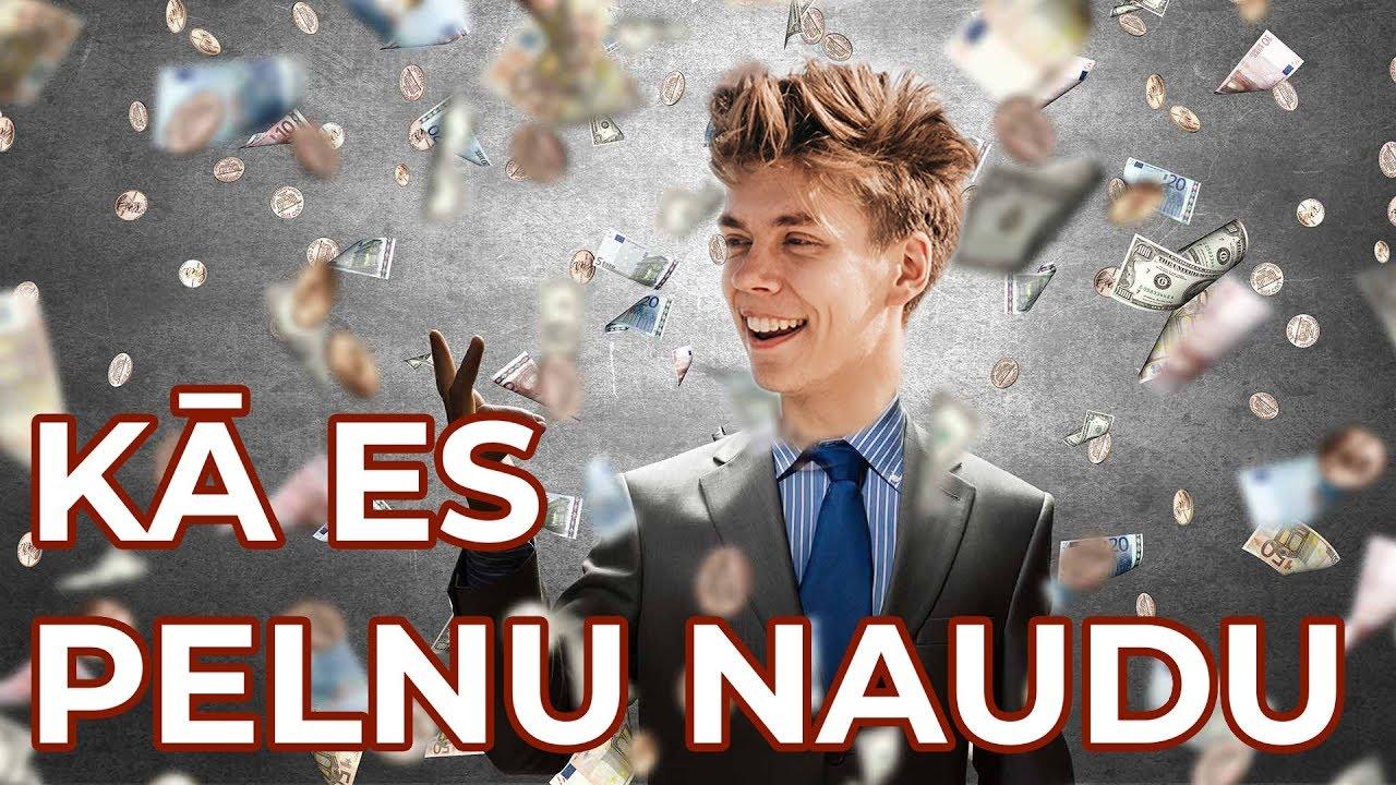 Kā pelnīt naudu ar Youtube