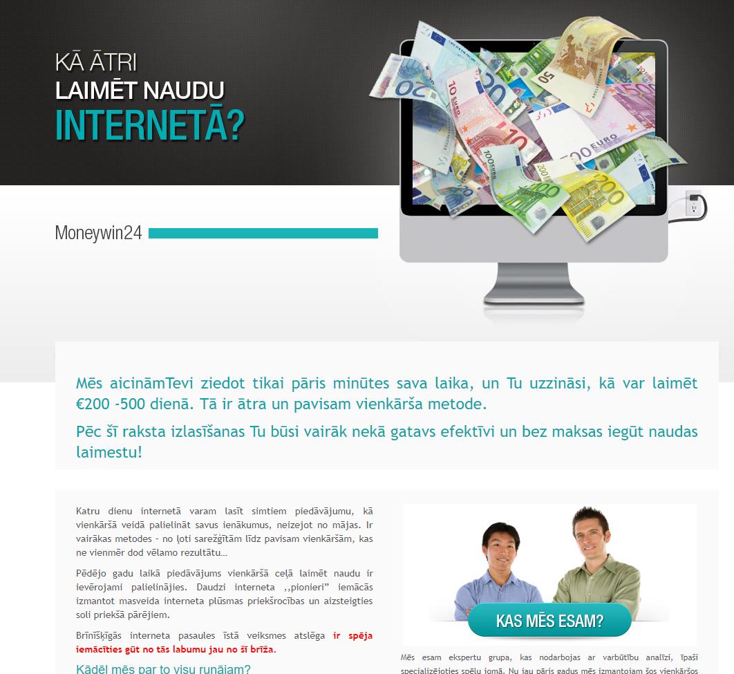 idejas, kā nopelnīt naudu internetā mājās