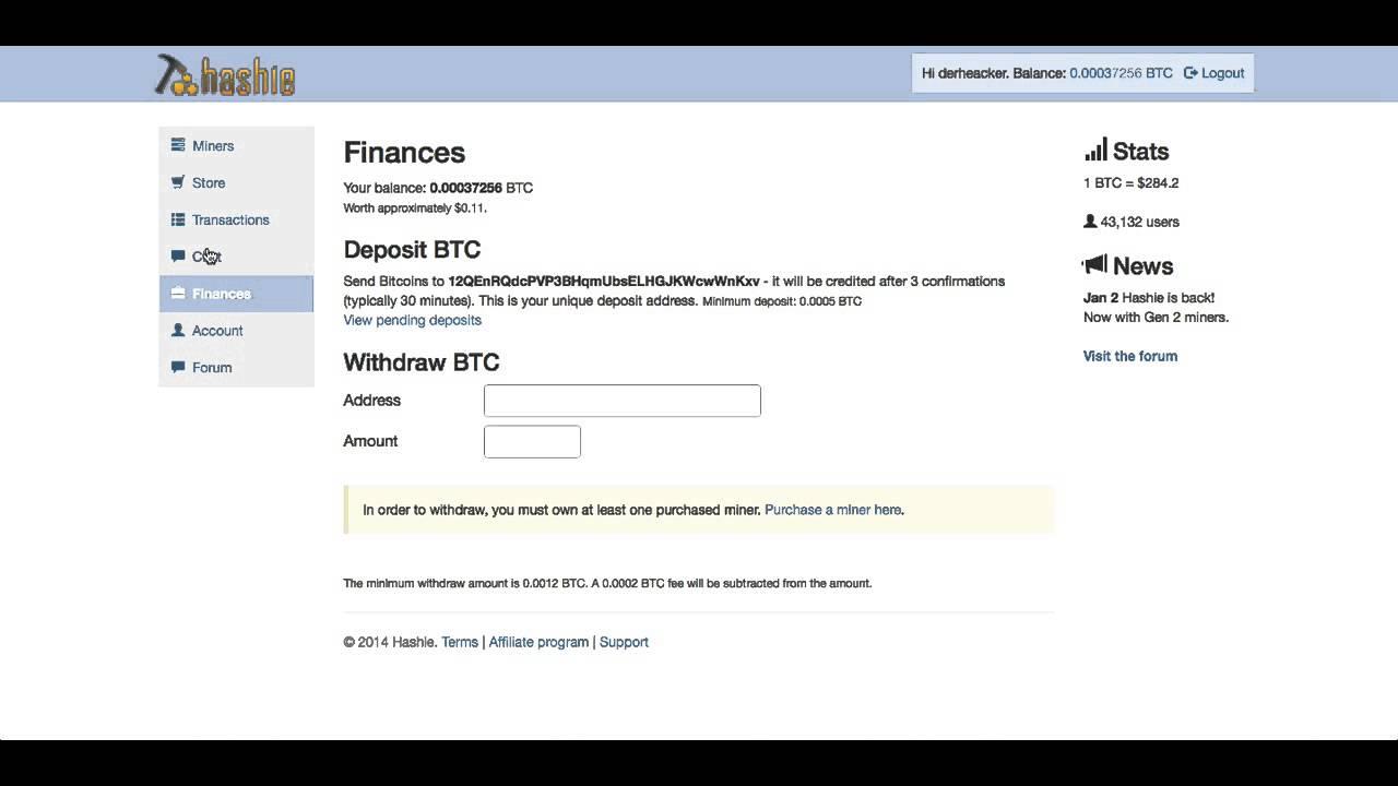 ieņēmumi no Bitcoin kursiem