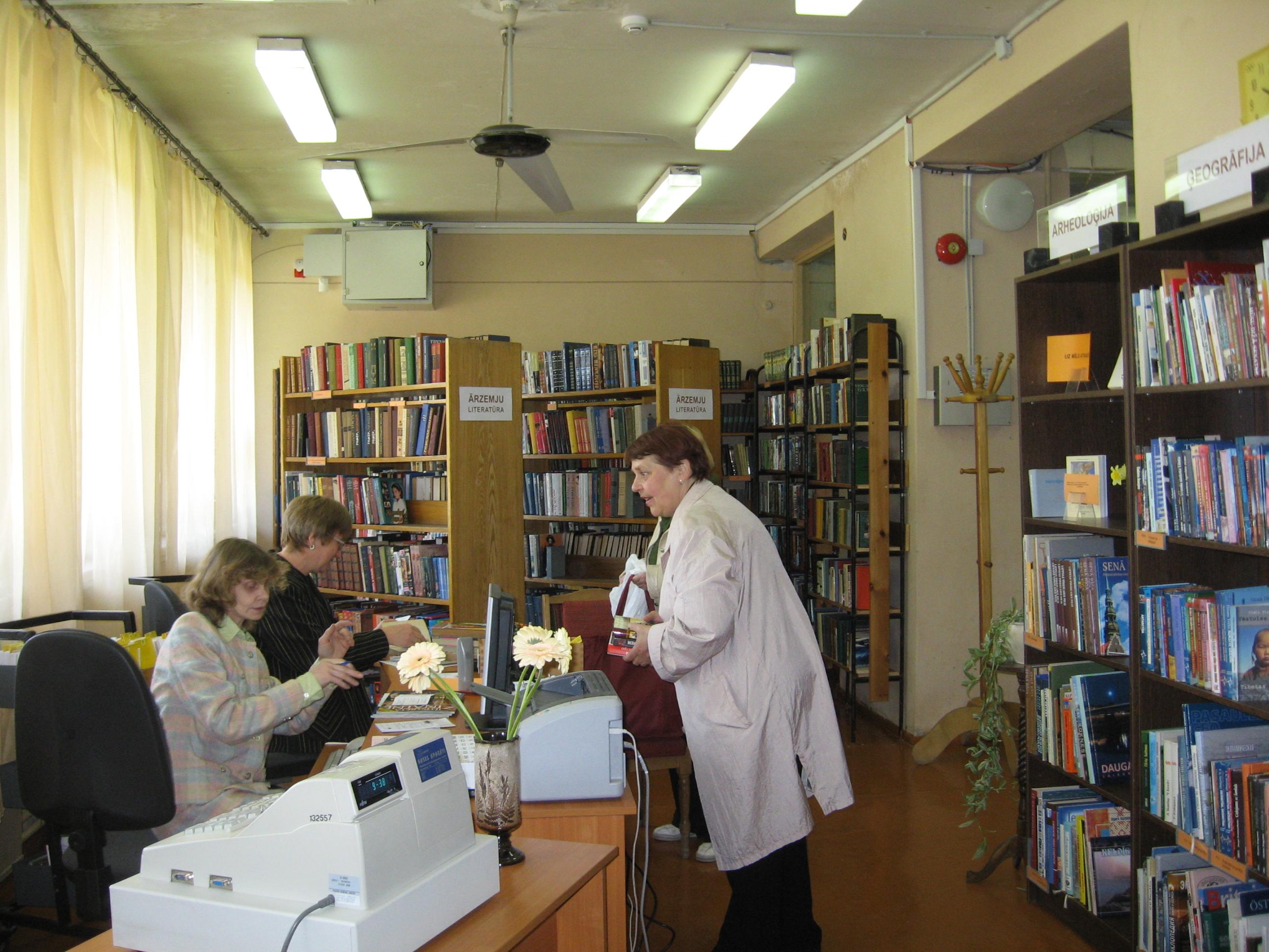 kā bibliotēka pelna naudu)