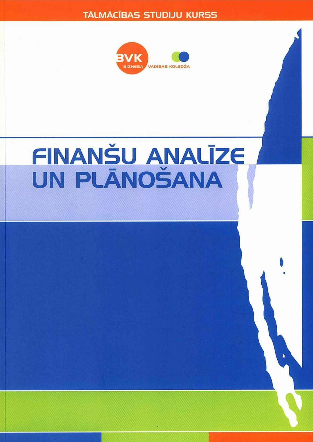 Finansu analīzes piemērs