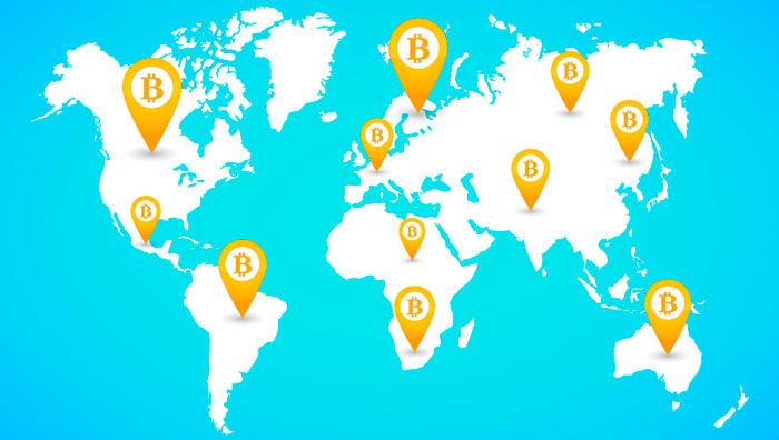 kurā valstī bitcoin