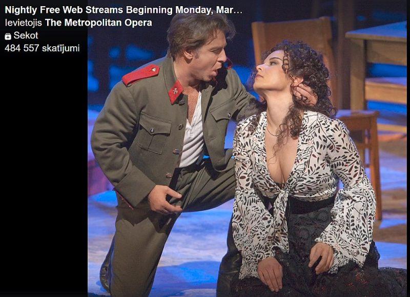 operas tiešsaistes ienākumu pagarinājumi