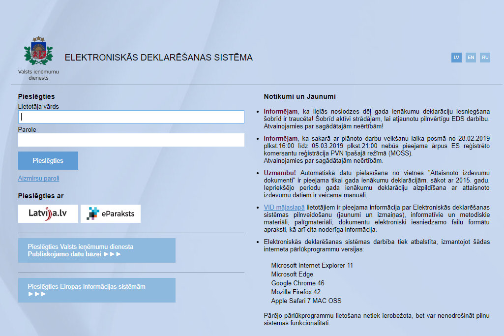 tiešsaistes ienākumu ieguldījums)